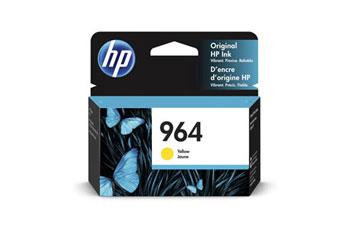 CARTUCHO HP 964 (3JA52A) - PRINT CARTRIDGE - 1 X YELLOW - 700 PAGES, HP OFICEJET PRO 9020