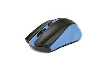 MOUSE XTECH GAMING WIRELESS, 1600DPI, 4 BOTONES, AZUL