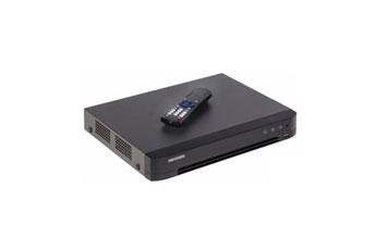DVR HIKVISION, 16 CANALES TURBO, HDTVI / AHD / CVI / CVBS / IP (DOS CANALES ADICIONALES), 1080×720P.