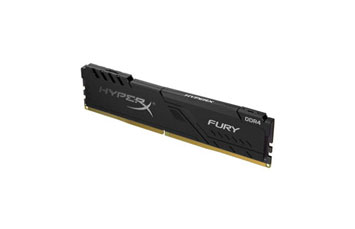 MEMORIA 4GB (1X4GB) KINGSTON, P/DESKTOP, DDR4, 2666MHZ, CL16 288-PIN DIMM, HYPERX FURY BLACK. NOTA REEPLAZA AL NUMERO DE PARTE: (HX426C15FB/4)