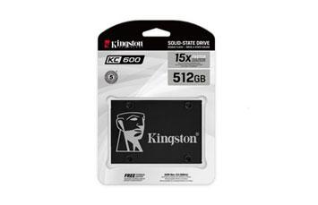 DISCO DE ESTADO SOLIDO KINGSTON 512GB, SATA3, NEGRO.