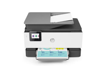 IMPRESORA HP OFFICEJET PRO 9010 E-ALL-IN-ONE INALAMBRICA, UP TO 22PPM NEGRO Y 18PPM COLOR, UP TO 1200 X 1200 OPTIMIZED DPI NEGRO, UP TO 4800 X 1200 OPTIMIZED DPI COLOR, SCANNER-PRINT-COPIA - FAX - ALIMENTADOR AUTOMATICO DE DOCUMENTO (ADF) - IMPRESION AUTOMATICA A DOBLE CARA, BANDEJA DE 250 HOJAS, 1 PUERTO USB, 1 PUERTO ETHERNET, CARTUCHOS HP 963A Y HP 963XL