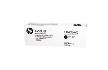 TONER HP CB436AC NEGRO 36A (CONTRACT) PARA LASERJET P1505 / M1120 / M1522N / M1522NF - TONER CARTRIDGE - 1 X BLACK - 2000 PAGES