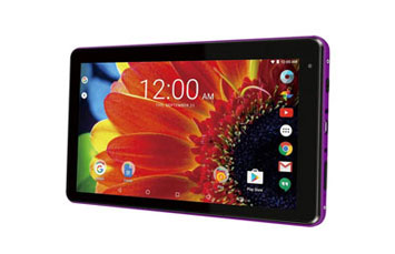 TABLETA RCA VOYAGER PRO 7 PULGADAS, 16GB, 1024 X 600, ANDROID 6.0 OS, 1GB DDR, 1.2GHZ QUAD- CORE, 1MP WEBCAM, WIFI AND BLUETOOTH V4.0, MICRO USB 2.0, TABLET INCLUYE: COVER CON TECLADO- PURPLE