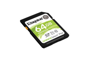 MEMORIA SD 64GB KINGSTON, SDHC, UHS-I