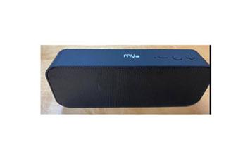 BOCINA MYO-B40, INALAMBRICO, MODO FM USB, TARJETA MIC SD, COLOR NEGRO.