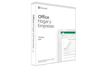 MICROSOFT OFFICE HOME AND BUSINESS 2019 32/64 ESPANOL P6, CAJA.