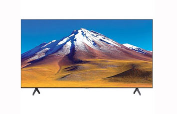TELEVISOR SAMSUNG 55 PULGADAS, CRYSTAL UHD 4K, SMART, (3,840 X 2,160), 60HZ, 3 HDMI + 2 USB + ETHERNET