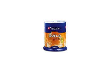DVD-R VERBATIM LIFE SERIES 4.7GB 16X 100PK SPINDLE