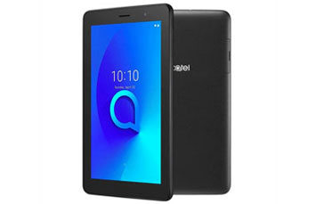 TABLETA ALCATEL 1T 7 PULGADAS, 4G LTE, 16GB, 7IN 2MP, NEGRO.