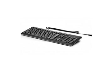 TECLADO HP USB, BLACK, INGLES, (HP-USB-BK)