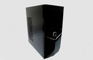 CASE MYO ATX MID TOWER NEGRA, 1 USB 3.0 + 1, USB 2.0 600 MYO-ATX8080, FUENTE DE ALIMENTACION EN VATIOS, PUERTO USB, AUDIO, MIC, VENTILADOR INCLUIDO