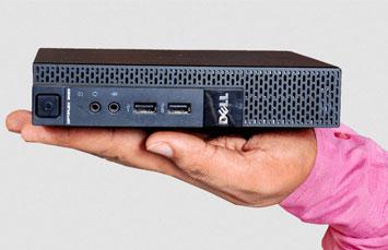 COMPUTADORA REFURBISH DELL OPTIPLEX MICRO 3020 I5 4570-4590 (4TA) 3.2-3.3GHZ, 4GB, 500GB, W8PRO